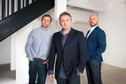 The Corner founders: Hourston, Simpson and Ewart