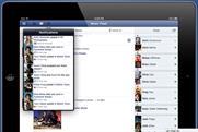 Facebook: unveils its long-awaited iPad app