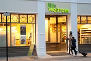 Waitrose: readies the opening of its 'little' store on Tottenham Court Road