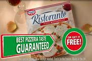 Dr.Oetker was the fastest growing frozen pizza brand in 2011 with sales rising almost 9%. Has two sub-brands Ristorante and Casa Di Mama.