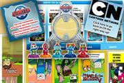 Cartoon Network: flips its homepage for Kobot promotion