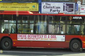 The Christian Party: bus ads drew 1,300 complaints