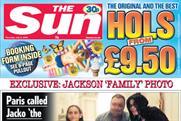 News International tabloid The Sun newspaper