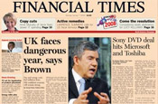 Financial Times: launches student Facebook application