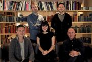 Fold7 creatives: (l-r) Ducker, Elms, Aston, Newey and Seath