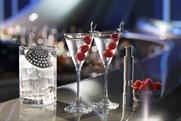 Grey Goose Galactic martini: created to toast a global partnership