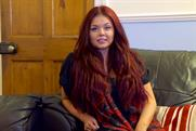 Scarlett: the Gogglebox star features in an ad that encourages viewers to register to vote