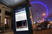 Google: offering search at bus stations and on the tube