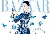 Harper's Bazaar: August issue features Samsung branded content