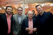JWT: ( l to r) Joseph Petyan, James Whitehead, Bullmore and Russell Ramsey