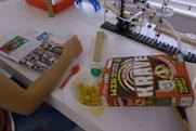 Jacksgap: collaborated with Kellogg to create a 'cereal feeding machine' to promote Krave