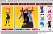 Jetix: website character creator
