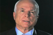 McCain: loses YouTube battle