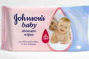 Johnson's: new look for baby wipes