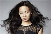 Grace Gao: model photographed by David Bailey for latest Karen Millen campaign
