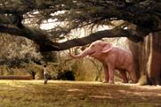 Mr Kipling: a pink elephant features in brand's latest TV ad campaign