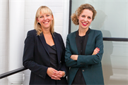 Ince and Tapper: promoted at VCCP