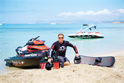 Why we're loving: Lindsay McQueen, flyboarder