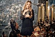 Rosie Huntington-Whiteley: stars in the M&S Christmas ad