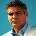 Clooney: stars in Martini ad