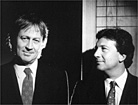 Muirhead (l) and Kershaw: selling stake