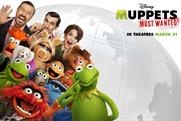 Disney: Muppets Movie starring Ricky Gervais,Tina Fey and Ty Burrell