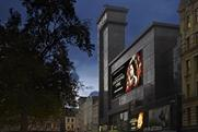 Odeon: giant digital screen at Leicester Square