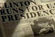 Orange brand film from 1999 predicted Hillary Clinton presidential bid