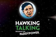 Stephen Hawking advises England footballers to 'welly it' in Paddy Power viral