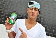 Paddy Power: posted image of Brazil star Neymar with 7-Up can