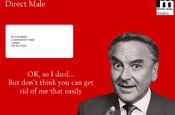 Monkhouse: star of the 'give a few bob' campaign