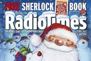 Radio Times: features a Father Christmas cover for the first time in four years