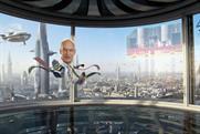 Channel 4: digital promo features Jon Snow's floating head