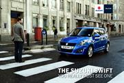 Suzuki: readies Swift campaign