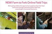 Tesco: launches Online Field Trips to supermarket's suppliers