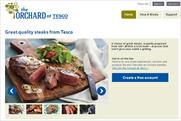 Tesco: earns praise for its bespoke social media platform The Orchard