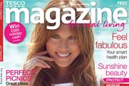 Tesco Magazine: free customer title tops the list
