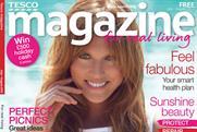 Tesco Magazine: free customer title tops the list