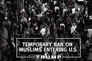 Trump is calling for a ban on Muslims in his first campaign TV ad