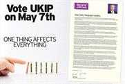 UKIP: the party's ad in the Daily Telegraph