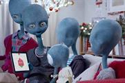 The Argos Aliens: to feature in combined TV and social media campaign