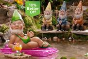 Asda: introduces mankini-wearing Gavin the Gnome