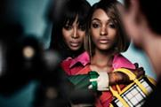 Naomi Campbell and Jourdan Dunn: team up for the Burberry summer campaign