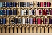 Burberry: continuing to focus on digital marketing initiatives such as its interactive scarf bar