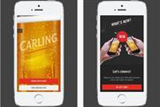 Carling: lager brand has resurrected the iPint app