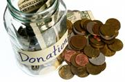 More donations to charity in December - but people give more in November