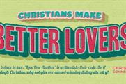 Christian Connection: dating website launches ad campaign on London Underground