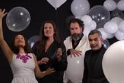 Left to right: Sandrine Huijgen, Jessica Kersten, Olivier Teepe, Sandeep Chawla, partners, Cloudfactory