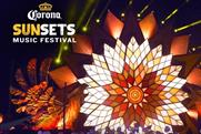 Corona: offering UK Spotify users the chance to win SunSet tickets