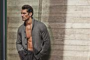 David Gandy: models for M&S clothing campaign